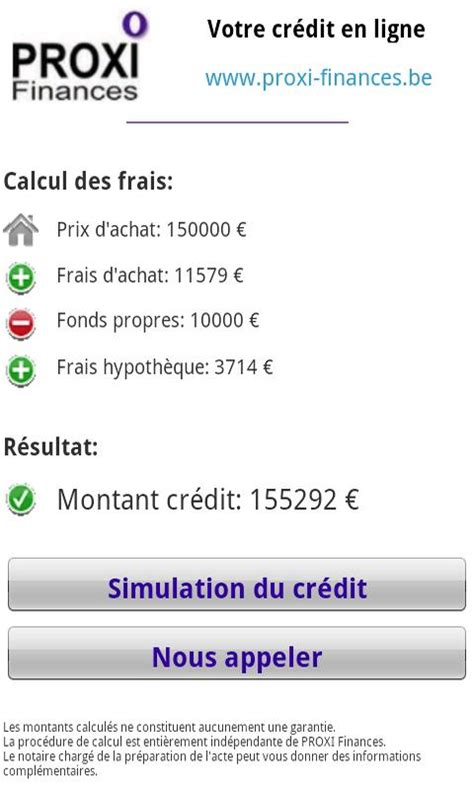 calcul frais de notaire android apps on play