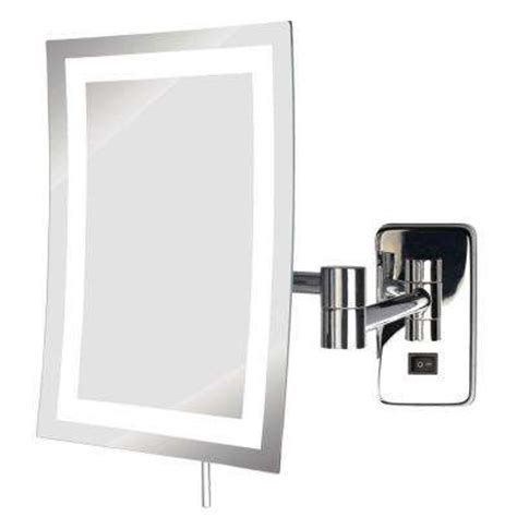 Magnified Bathroom Mirror by Magnifying Mirrors Bathroom Mirrors The Home Depot
