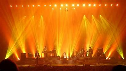 Stage Concert Lighting Background Lights Yellow Wallpapers