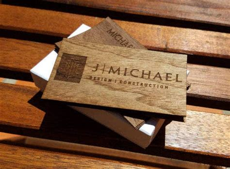 wood business card templates psd word