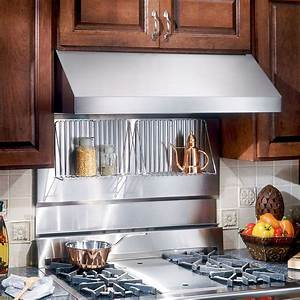Broan RMP4804 48 In Rangemaster Stainless Steel Backsplash