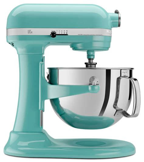 Kitchenaid Mixer Aqua Sky by New Kitchenaid Kp26m1xaq Aqua Sky Martha Stewart Color Pro