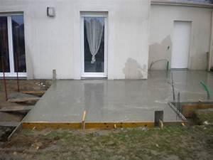 Dosage Beton Terrasse : dosage beton dalle terrasse ~ Premium-room.com Idées de Décoration