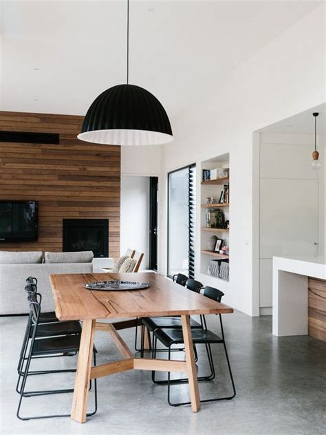 Wooden Furniture In A Contemporary Setting by 25 Best Ideas About Contemporary Dining Rooms On