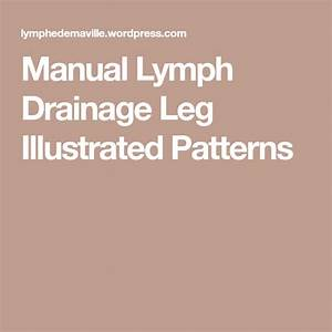 Manual Lymph Drainage Leg Illustrated Patterns