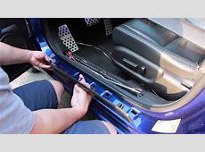 Custom Illuminated Acura TSX Door Sills DIY YouTube