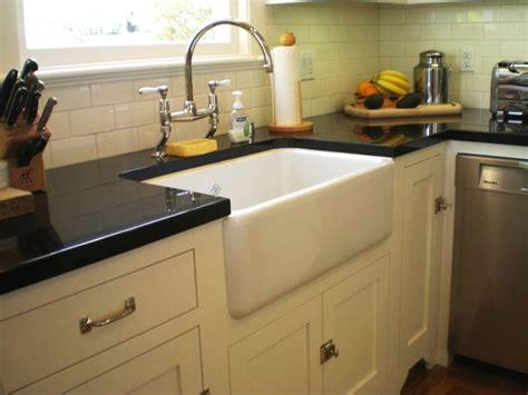 farm style apron sink traditional kitchen san