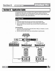 Driverack  Application Guide  1 Stereo 3