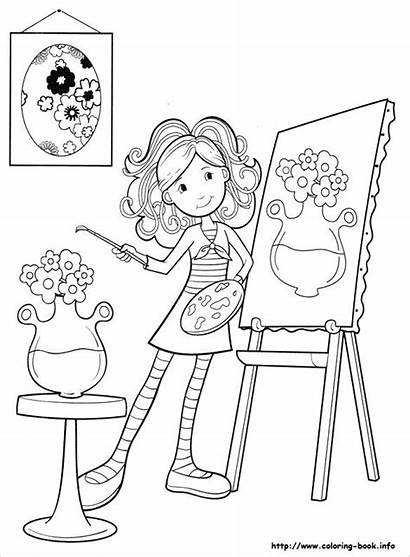 Paint Coloring Pages Microsoft Printable Getcolorings Colouring