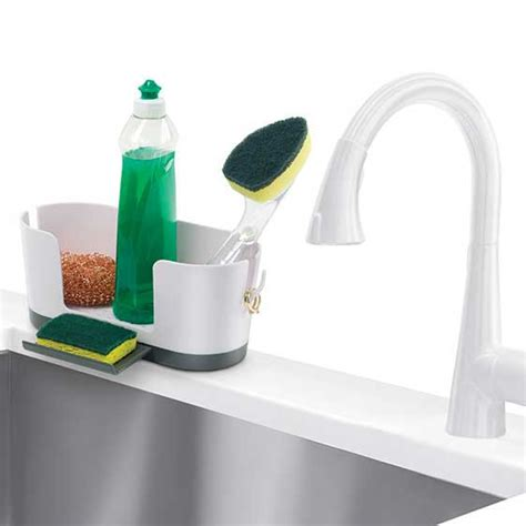 kitchen sink caddy organizer kitchen sink organizer in sink organizers 5673