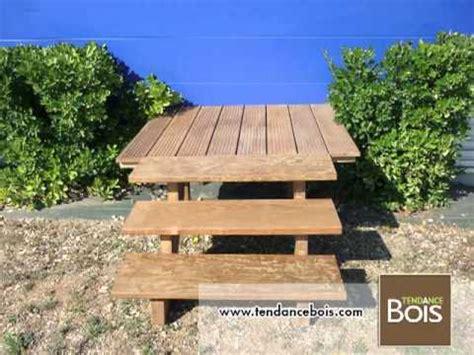 limon d escalier en bois limons et marches d escalier en bois exotique ip 233
