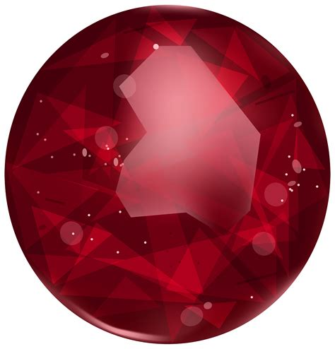 oval ruby png clipart  web clipart