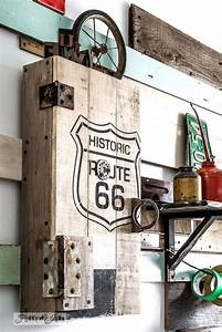 hometalk funky junk39s projects funkyjunk interiors With kitchen cabinets lowes with route 66 canvas wall art