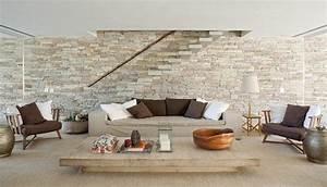 Mur En Pierre Interieur Moderne : pierre de parement rev tement mural et int rieur d coratif ~ Melissatoandfro.com Idées de Décoration