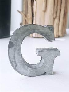 g zinc letter With zinc letters