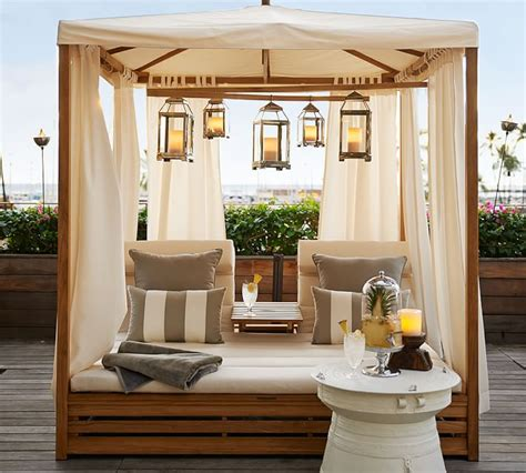Pottery Barn Small Living Room Ideas by Beautiful Outdoor Teak Daybed Decoholic