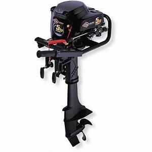 Briggs  U0026 Stratton U00ae 5-hp 4-cycle Outboard Motor