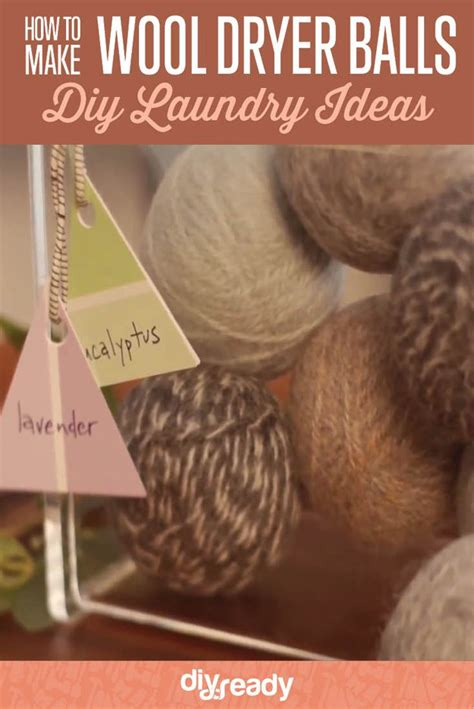 How To Make Wool Dryer Balls Diy Projects Craft Ideas