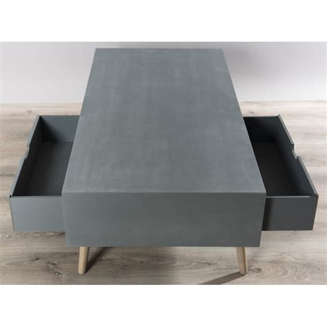 table basse effet beton table basse scandinave effet b 233 ton th 233 a so inside