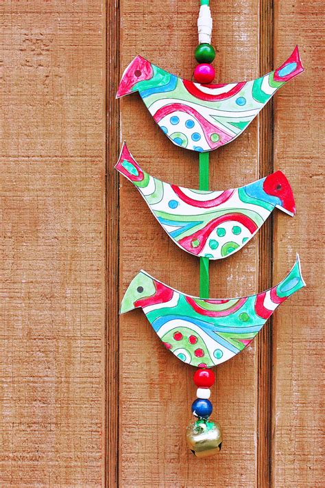 Simple Christmas Craft Ideas Holiday Bell Tota Babble
