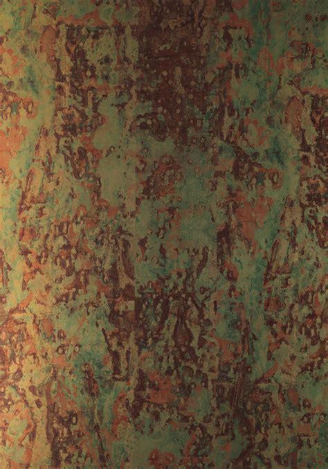Kupfer Metallic by Phc 02 Spoiled Copper Metallic Wallpaper By Piet Hein Eek