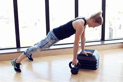 Kettlebell Exercises Abs Core Row Bench Step