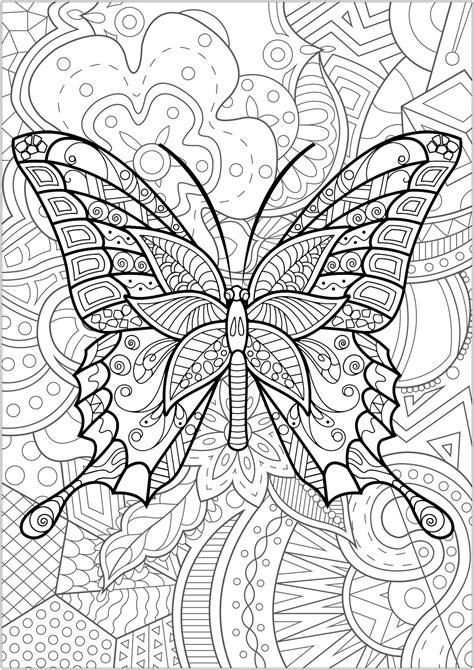 disegni da colorare per adulti farfalle farfalle e insetti 21962 farfalle e insetti disegni da