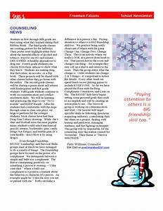 Elementary school newsletter templates pictures to pin on for Primary school newsletter templates