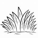 Grass Coloring Outline Pagina Clipart Template Kinderen Tall Erba Children Lawn Drawing Illustrations Dzieci Traw Kolorowania Dla Strona Grama Coloracao sketch template