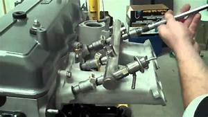 22re Toyota Injector Installation