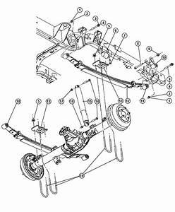 Dodge Dakota Bolt  Screw  Hex Flange Head  Suspension