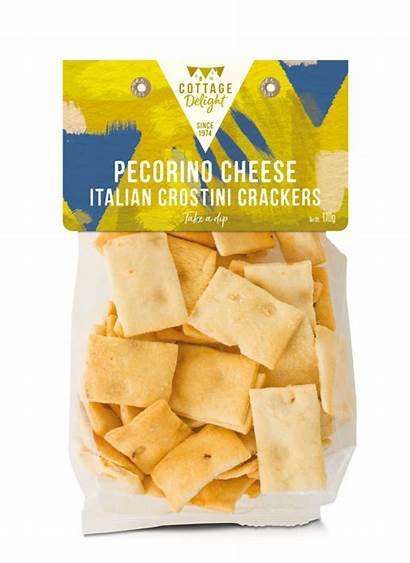 Italian Cheese Pecorino Crackers Crostini Delight Cottage