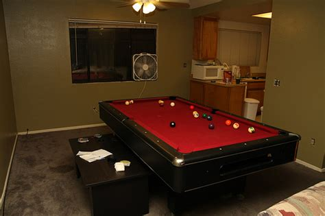 pool table in a small room pool table in a very small room