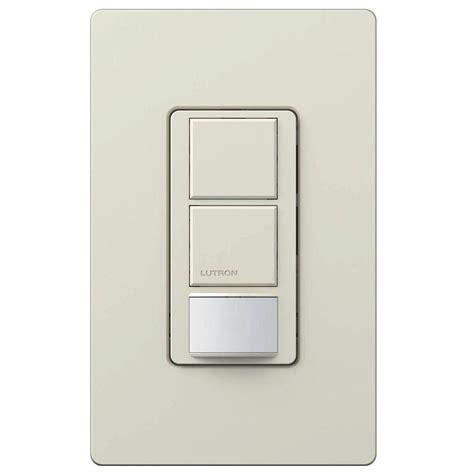 lutron light switches lutron maestro 6 single pole dual circuit occupancy