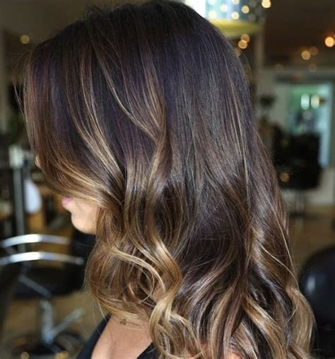Ombre Dark Hair Choice Image   Hair And Trends 2018 Sample