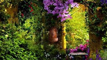 Garden Secret Desktop Wallpapers Nature Background Gardens
