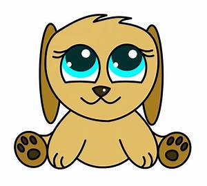 How to draw cartoons anime puppy - ClipArt Best - ClipArt Best