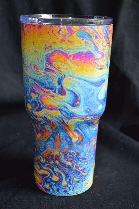 rtic tumbler hydro dipped oz cup  yeti oil slick splash dr oz oil  shops