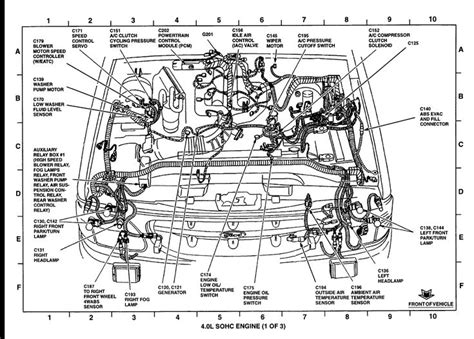 ford explorer parts diagram ford   image