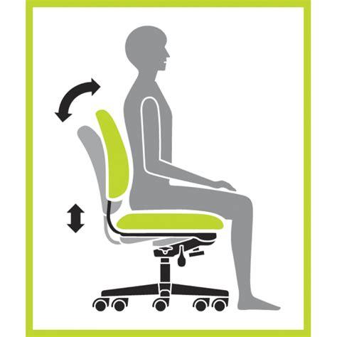 chiarezza ortego flex ergonomic task chair black sku