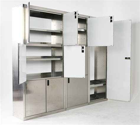24 quot wide polished closet stainless garage storage