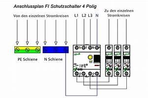 Schalter 4 Polig : fi schutzschalter polig schalter oder hager a ~ Frokenaadalensverden.com Haus und Dekorationen