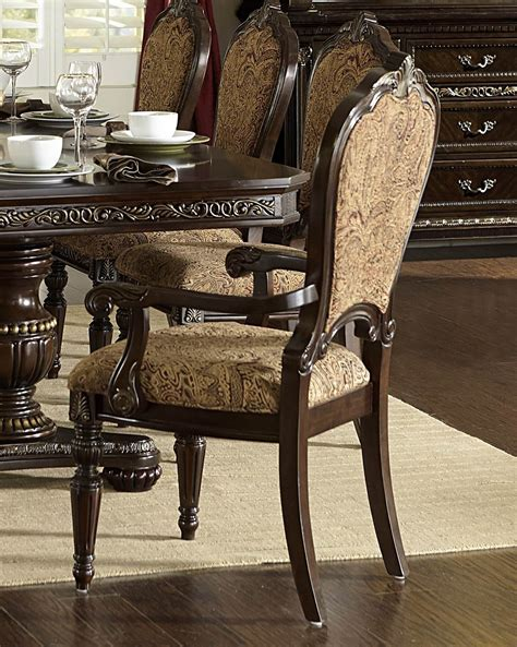 Russian Hill Upholstery by Russian Hill Warm Cherry Arm Chair From Homelegance 1808a