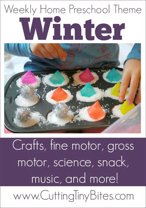 winter theme weekly home preschool what can we do with 410 | Winter Theme Preschool