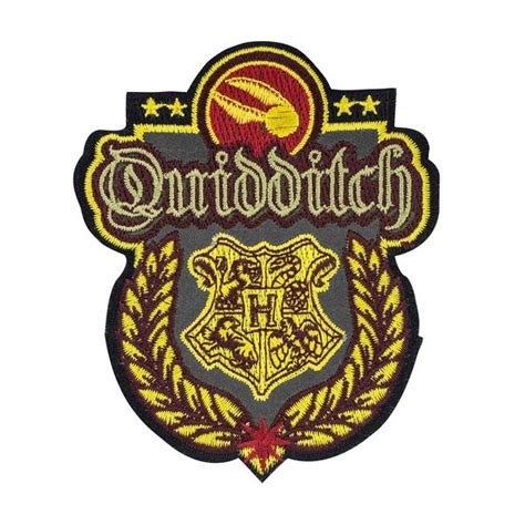 harry potter patchescrests quidditch hogwarts