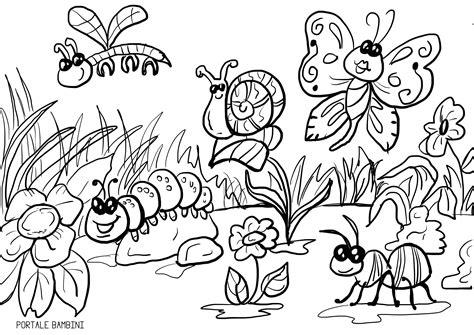 disegni da stare di disegni di primavera da colorare portale bambini con