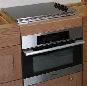Cooktop Oven Microwave Combo