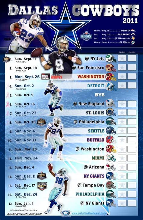dallas cowboys  schedule wallpaper wallpapersafari