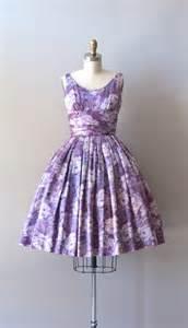Vintage1950s Floral Dresses