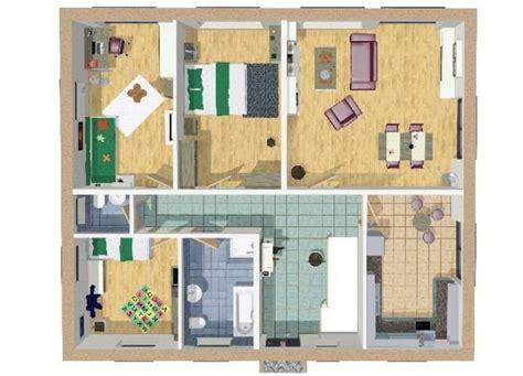 Grundriss Wohnung 120 Qm by Grundriss Bungalow 120 Qm 4 Zimmer Wilms Haus